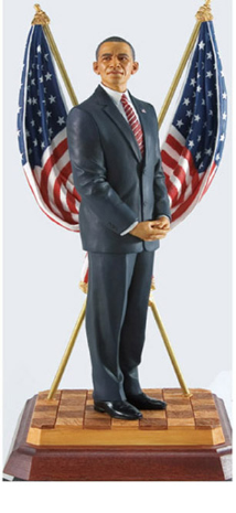 President Barack Obama, Limited Edition ,Thomas Blackshear's Ebony Visions (812715)