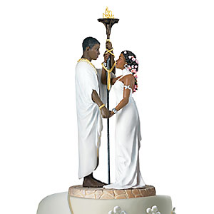 Commitment Cake Topper